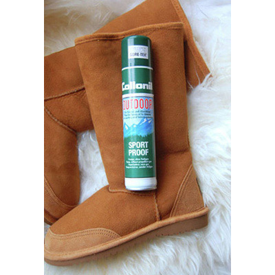 waterproofing leather boots spray